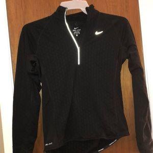 Black Nike Dri Fit Longsleeves